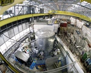 Nuvem nuvem de câmara na pesquisa CERN centro